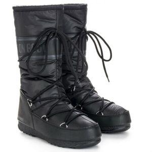Moon Boot Womens High Nylon Waterproof Snow Calf